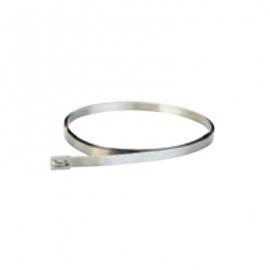 Collier de serrage en inox - Marquage industriel - Accessoire de fixation