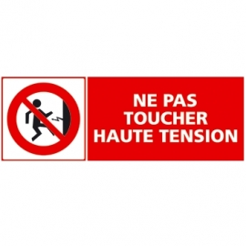 Ne pas toucher haute tension