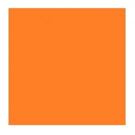 Carré Orange magnétique simple face