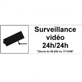 Site sous vidéosurveillance