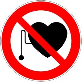 Stimulateur cardiaque / pacemaker interdit
