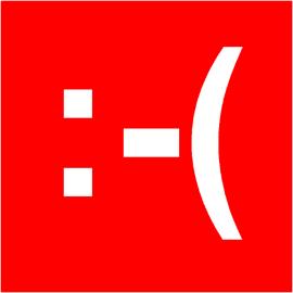 Smiley Web Rouge simple face magnétique
