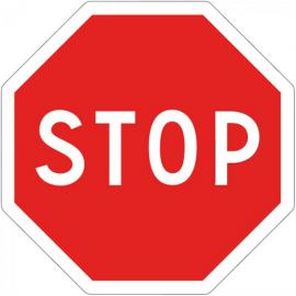 STOP - Pictogrammes au sol