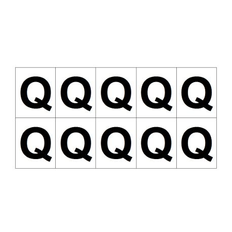 Lettre Q