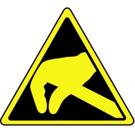 Danger Electrostatique