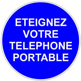 Eteignez votre téléphone portable