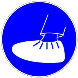 Port des surchaussures obligatoire