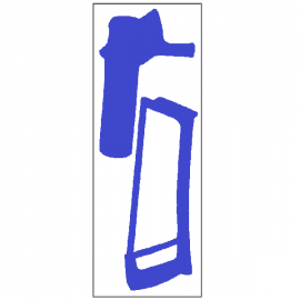 Silhouettes outils adhésives - scie circulaire et scie à métaux