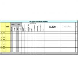 Tableau suivi de production 1 - GB A1