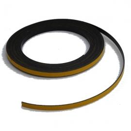 Bande magnétique souple jaune 5m x 5mm