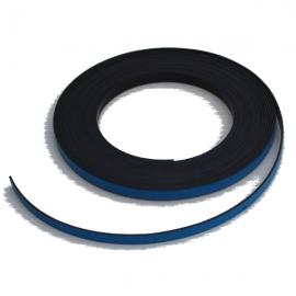 Bande magnétique souple bleue 5m x 5mm