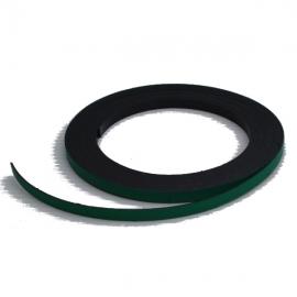 Bande magnétique souple verte 5m x 5mm