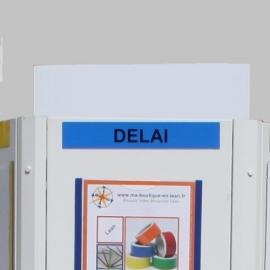 Casquette PVC pour Affichage Totem (sans titre imprimé)