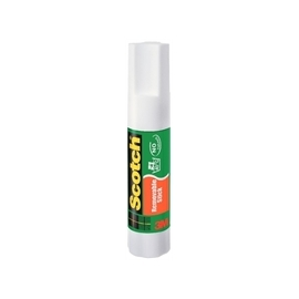 Baton de 7G de colle blanche repositionnable.