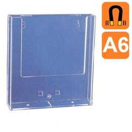 Boite plexiglass A6 - Fixation Magnétique