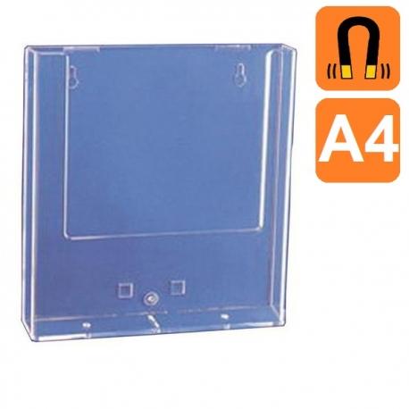 Boite plexiglass A4 - Fixation Magnétique