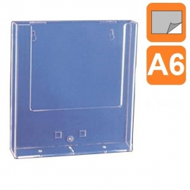 Boite plexiglass A6 - Fixation Adhésive