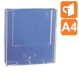 Boite plexiglass A4 - Fixation par crochet plastique