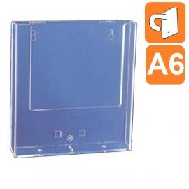 Boite plexiglass A6 - Fixation par crochet plastique