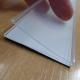 lot de 10 Porte-étiquettes PVC transparents Adhésifs - 1m x 44mm