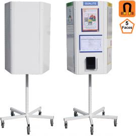 TOTEM 5 faces rotatif (Tableaux) Panneaux de communication