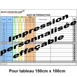 Impression personalisée SANS CONTROLE de votre fichier pour tableau 150 cm x 100 cm
