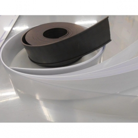 Porte-étiquette magnétique 40mm x 5m