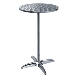 """Table type """"Mange-debout"""" avec 1 plateau"""