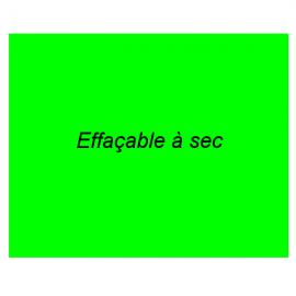 Magnet vert 55x55mm revêtement effaçable à sec