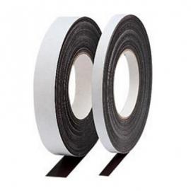 Ruban EFFACABLE magnétique Blanc à découper - Longueur 1m