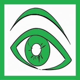 """Magnet """" Oeil Vert """" pour maintenance préventive ou 1er niveau - TPM"""