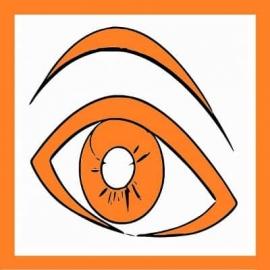 """Magnet """" Oeil Orange"""" pour maintenance préventive ou 1er niveau - TPM"""