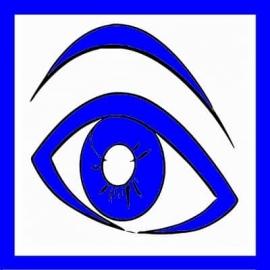 """Magnet """" Oeil Bleu """" pour maintenance préventive ou 1er niveau - TPM"""