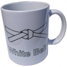 Mug White Belt Lean-6Sigma