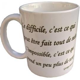 Tasse à café - Mug avec une citation sur l'amélioration continue - Kaizen