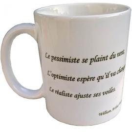 Tasse à café - Mug avec une citation pour manager une équipe Lean