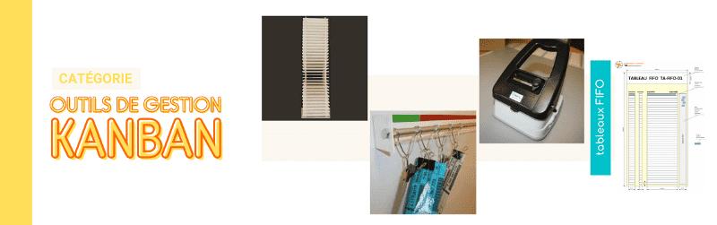 Nos outils de gestion : Séquenceur, lanceur kanban et tableau FIFO - ma boutique en lean