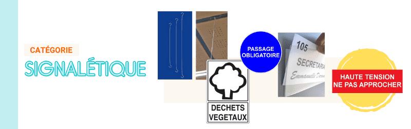 Signalétique : Panneaux et plaques de porte