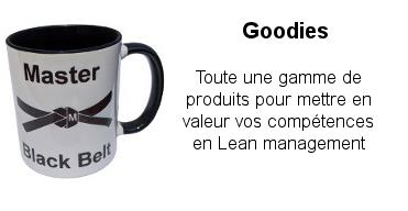 Le Goodie est un outil de communication efficace pour valoriser vos compétences en Lean Management o