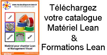 Téléchargez le catalogue matériel Lean et Formations lean gratuitement !